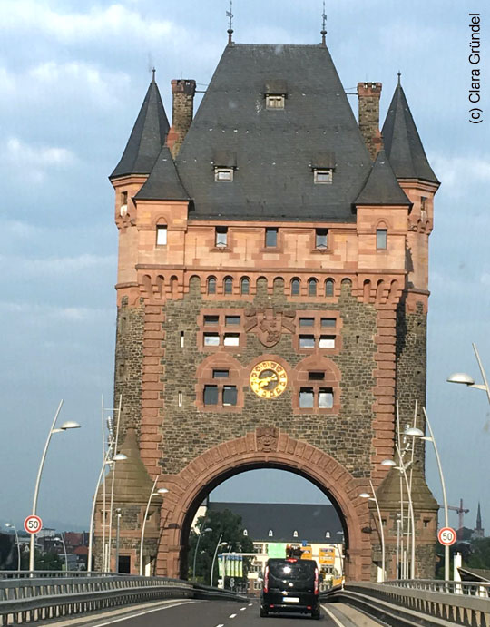 Der Nibelungenturm in Worms.