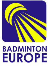 Logo der Badminton Europe Confederation